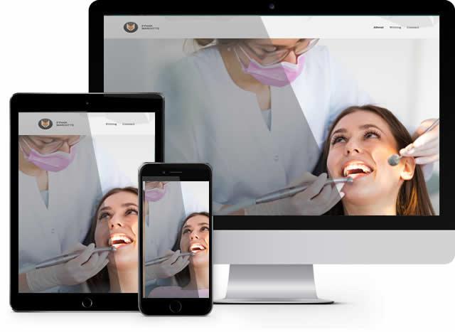 <b>Agenzia Realizzazione Siti Web Quadraro</b> Dentista Quadraro