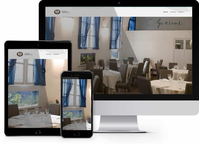 <b>Realizzazione Siti Internet Gardenie</b> per ristoranti Roma